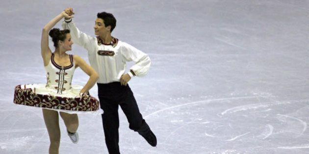 Tessa Virtue And Scott Moir's Style Evolution: See Their Figure Skating Fashion