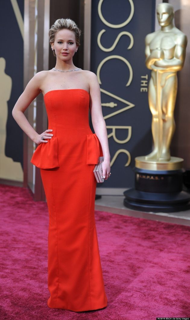 Jennifer Lawrence Oscars 2014: Dior Dress Has Our 'Meh' Vote