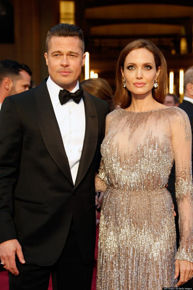 Angelina Jolie, Brad Pitt Oscars 2014: Couple Steal Red Carpet Spotlight