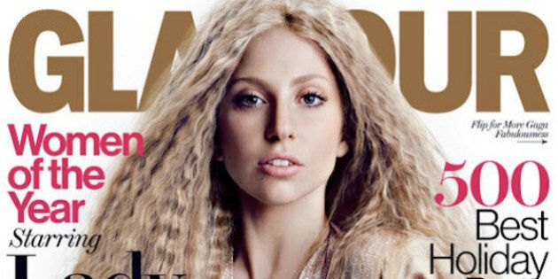 Lady Gaga's Glamour Magazine Cover Is Surprisingly Subtle