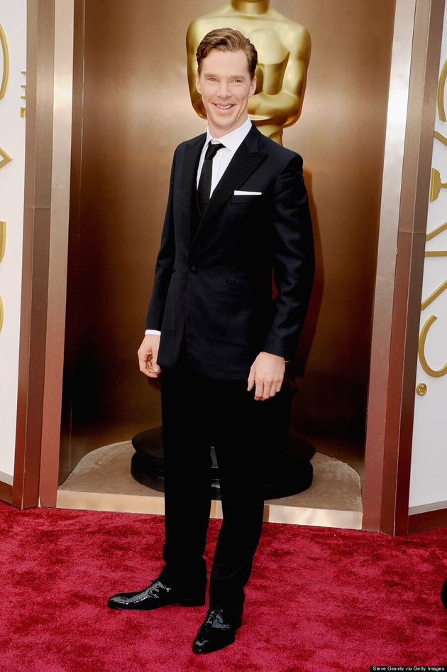 Benedict Cumberbatch Oscars 2014: 'Sherlock' Star Photobombs U2 On The Red Carpet