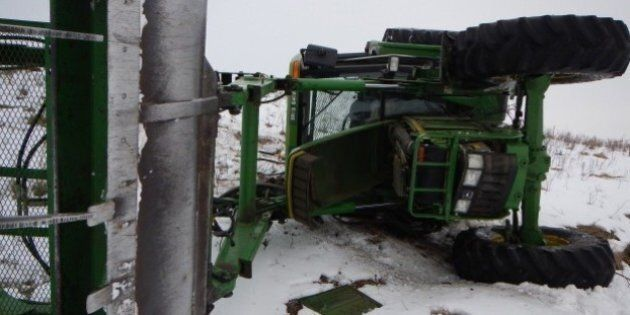Alberta Tractor Chase Ends After Mounties Pursue On