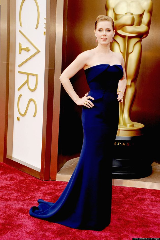 Amy Adams Oscars 2014: Gucci Dress Underwhelms On Red Carpet