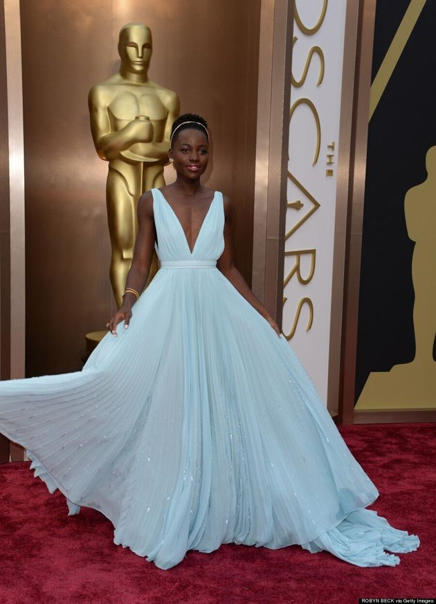 Lupita Nyong'o Oscars 2014: Prada Gown Gets Our Best Dressed Vote