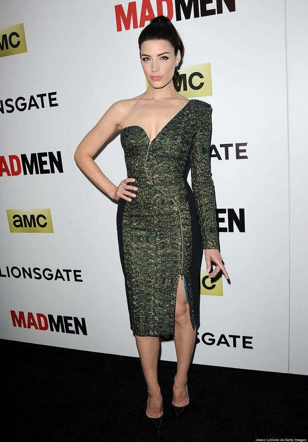 Jessica Paré's 'Mad Men' Red Carpet Is Fierce