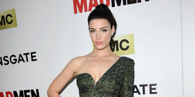 HOLLYWOOD, CA - APRIL 02: Actress Jessica Pare attends the season 7 premiere of 'Mad Men' at ArcLight...