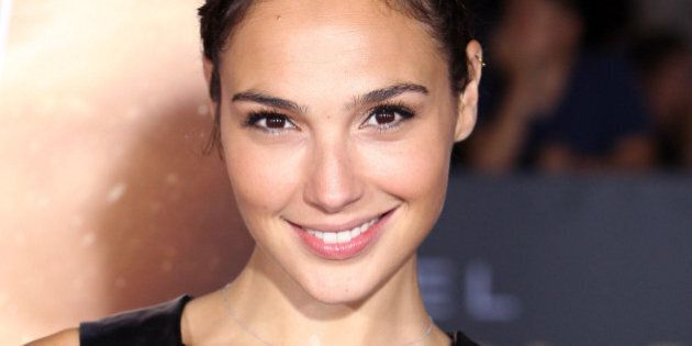 WESTWOOD, CA - AUGUST 28: Actress Gal Gadot attends the premiere of Universal Pictures' 'Riddick' at...
