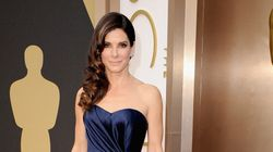 Sandra Bullock Wins The Oscar Red