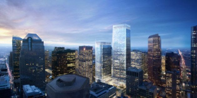 Brookfield Place Calgary: Tallest Building In Western Canada Begins