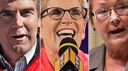 Biggest Provincial Winners, Losers In