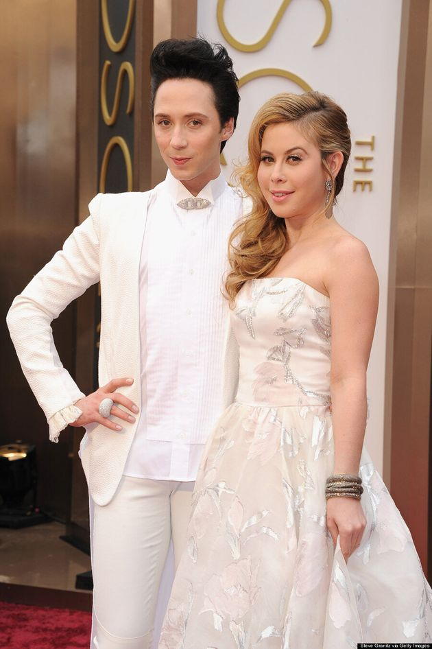 Johnny Weir, Tara Lipinksi's Oscars 2014 Outfits Are So Glamorous