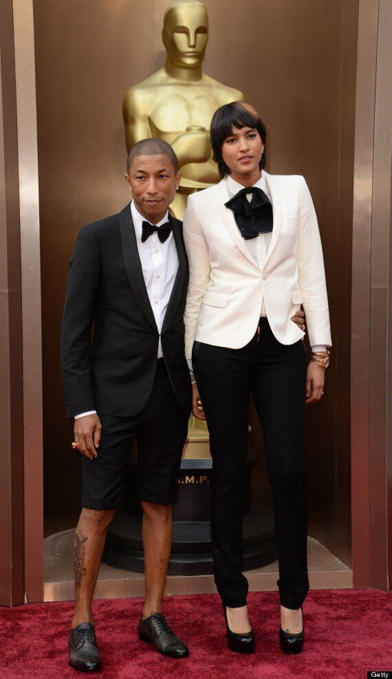 Pharrell Wore Shorts To The Oscars And People Were Very