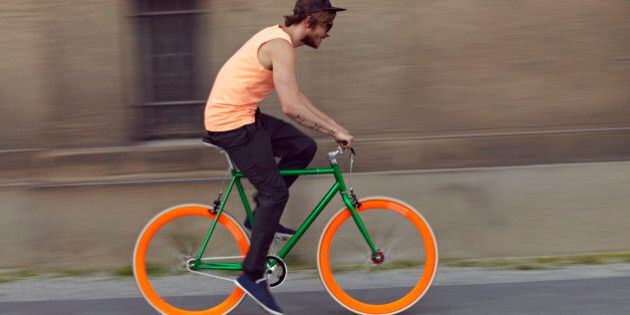 City Cycling May Be Hurting Your Lungs, Study