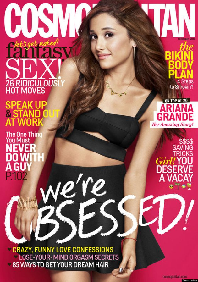 Ariana Grande Looks Surprised And Uncomfortable On Cosmopolitan Cover