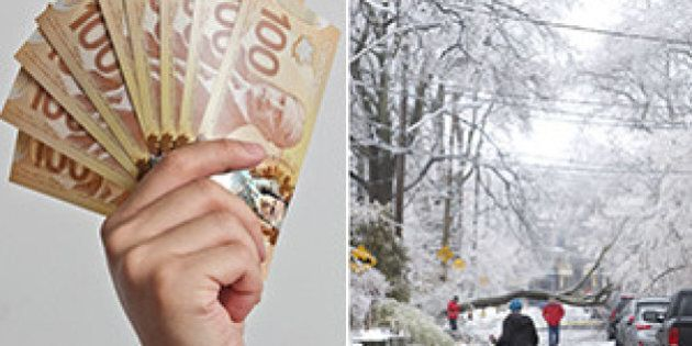 Toronto Ice Storm: Gift Card Program Hits