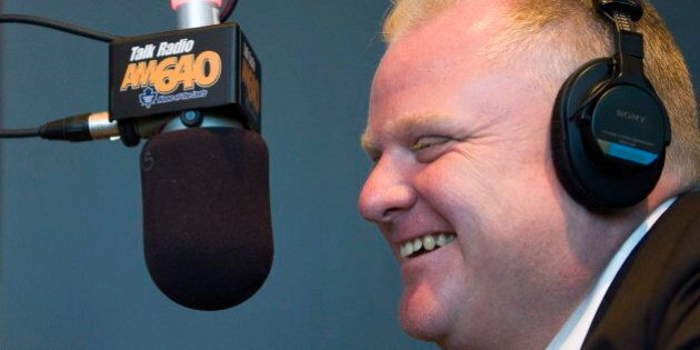Rob Ford Accused Of Calling Talk Radio Show, Goes Trick-Or-Treating (AUDIO, VIDEO,