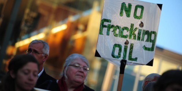 Oil Execs Drink Fracking Fluid At Montreal