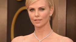 Charlize Theron's Sexiest Oscar Dress