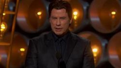 John Travolta's Face. No