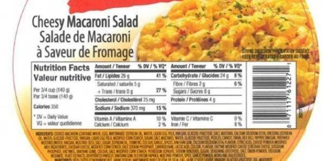 Reser's Salad Recall: Canadian Food Inspection Agency Warns Over Listeria