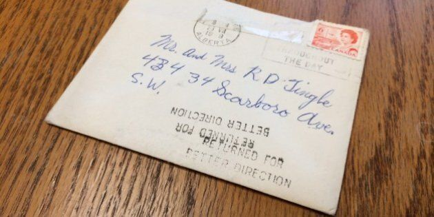 Calgary Woman Gets Letter With 6-Cent Stamp 45 Years Late