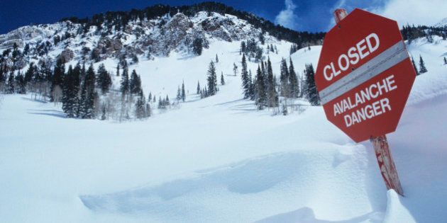 Avalanche Risk High In Southern Alberta,
