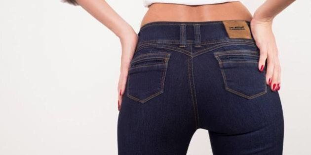 Push-Up Jeans Are A Thing That Exist