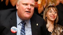 Ford's Wife Keeps Low Profile After Crack
