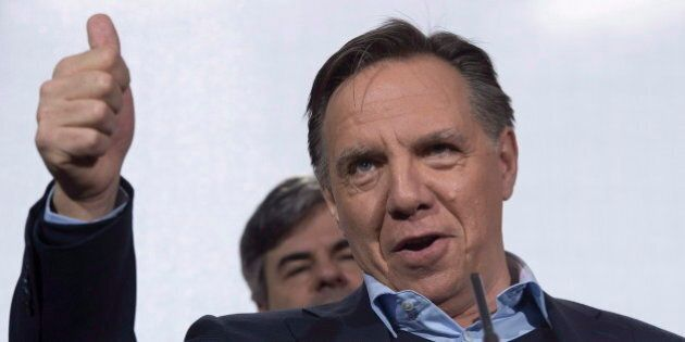 Quebec Election: Francois Legault Tells Voters His Party Is Alternative To 'Worn-Out'