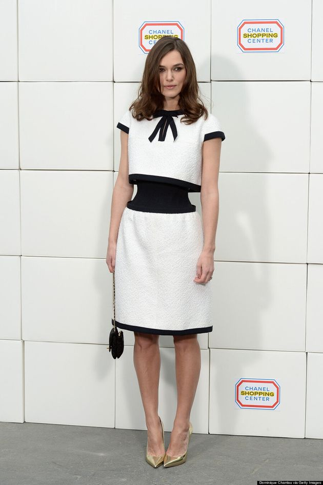 Keira Knightley's Chanel Illusion Dress Plays Tricks On Our