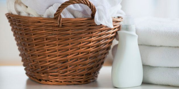 Homemade Detergent, Softener And Dryer Balls Changes Up The Laundry