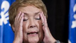 Marois Regrets Talking