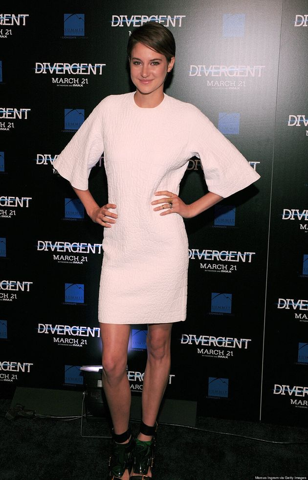 Shailene Woodley's Comforter Dress Is Actually Really Chic