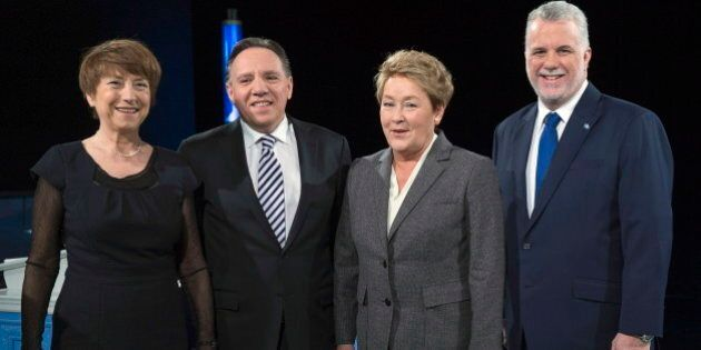 Quebec Election 2014: Leaders Make Last Push For Votes Before Election