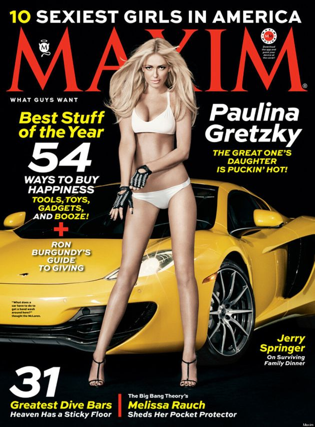 Paulina Gretzky's Maxim Cover Is Almost As Hot As Her Instagram Page