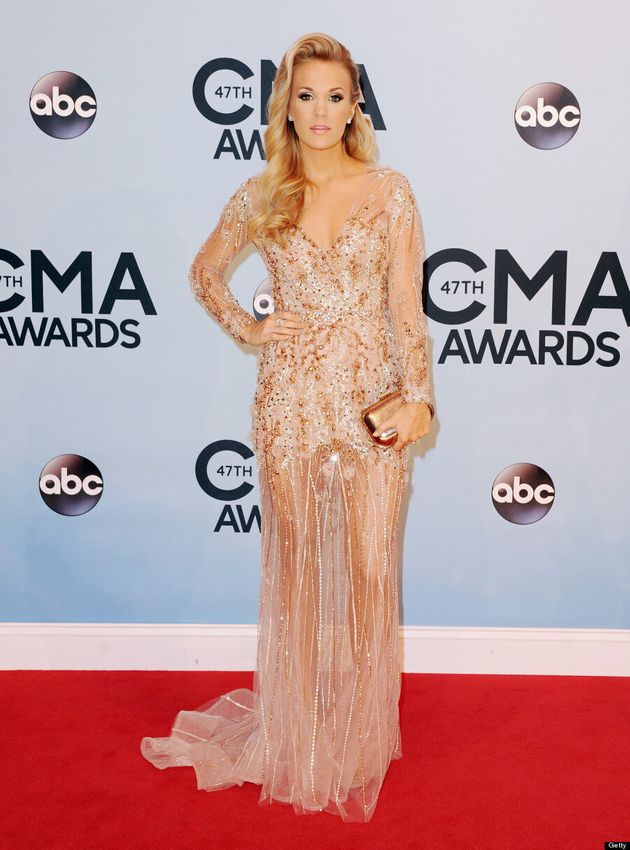 Carrie Underwood CMAs 2013: Singer's Teased Bangs Remind Us Of 'Dynasty'