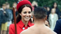 Kate Middleton Looks Chic While Meeting Bare-Bottomed