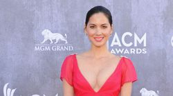 Olivia Munn Almost Busts Out Of Her