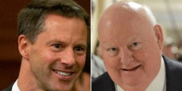 Nigel Wright Had No Love For Mike Duffy, Despite Paying His Expense