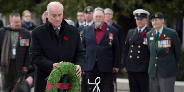 Julian Fantino: Wounded Ex-Soldiers Get Top Priority For Federal Government
