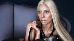 What Lady Gaga's Versace Ads Look Like Without