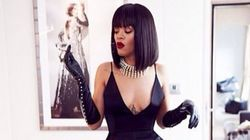 Rihanna Makes Garter Belts Look