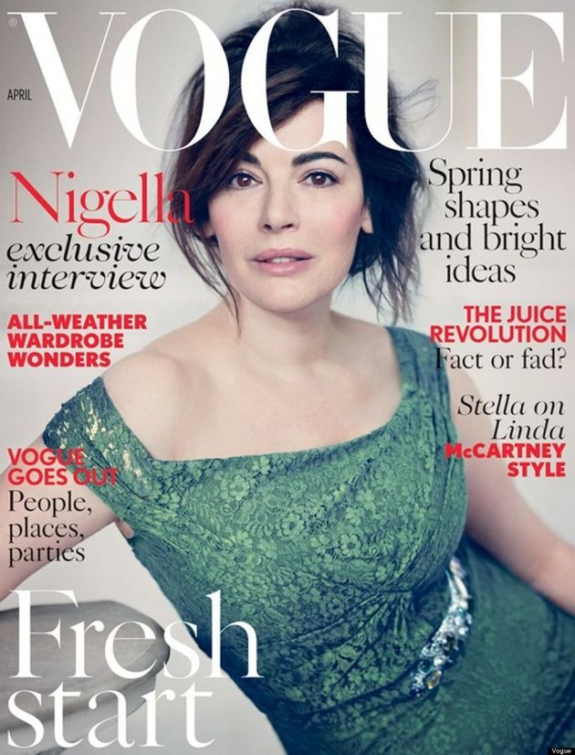 Nigella Lawson's 'No Makeup' Vogue Cover Is Tricking