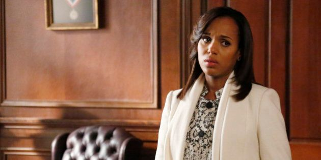 SCANDAL - 'Kiss Kiss Bang Bang' - Sally sets a meeting with the NRA which sends the White House into a tailspin. Olivia and Huck come to shocking realizations and a surprising person asks for help from Pope and Associates, on ABC's 'Scandal,' THURSDAY, MARCH 20 (10:00-11:00 p.m., ET) on the ABC Television Network. (Richard Cartwright/ABC via Getty Images)
