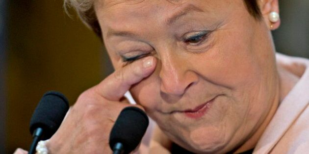Pauline Marois Has No Regrets As She Bids Tearful
