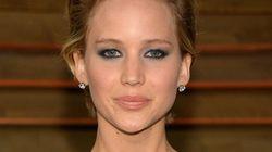 Jennifer Lawrence Flashes Some