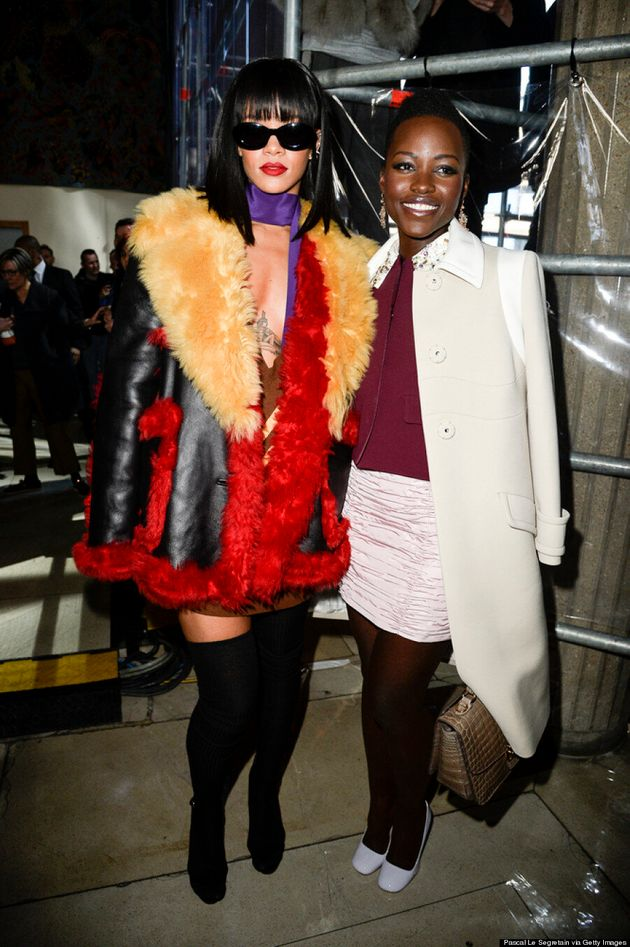 Rihanna And Lupita Nyong'o Are Our New Favourite Fashion