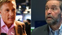 Tories Mostly Mum On Quebec Election, Mulcair Talks