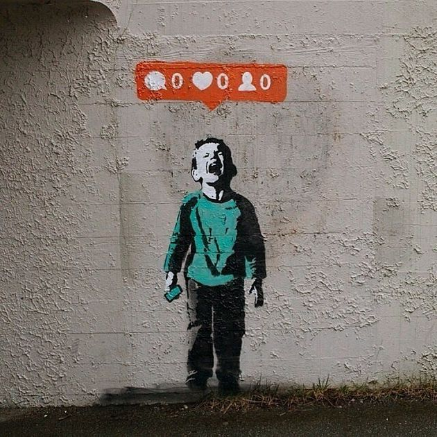 Banksy Shares Vancouver Street Artist's
