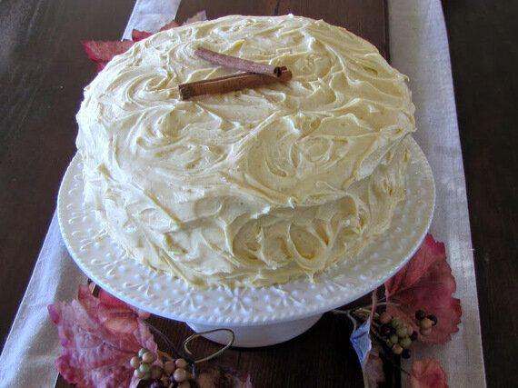 RECIPE: Spiced Pumpkin Layer Cake With Cream Cheese
